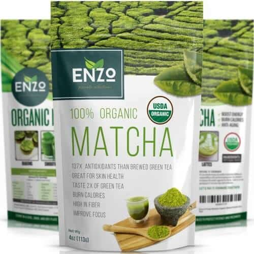 Enzo Organic Matcha Green Tea