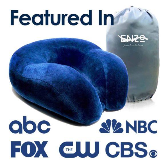 best-blue-travel-pillow