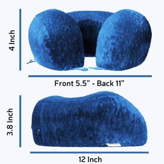 blue-travel-pillow-size