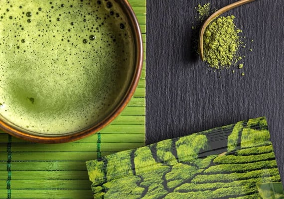 green tea history