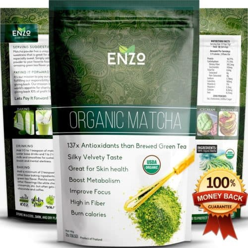 organic matcha green tea 2oz