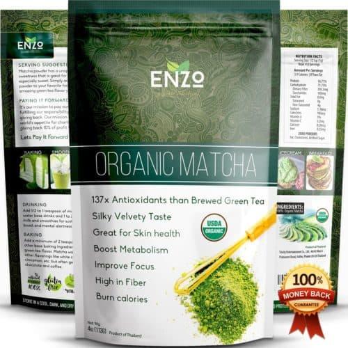 organic matcha tea 4oz