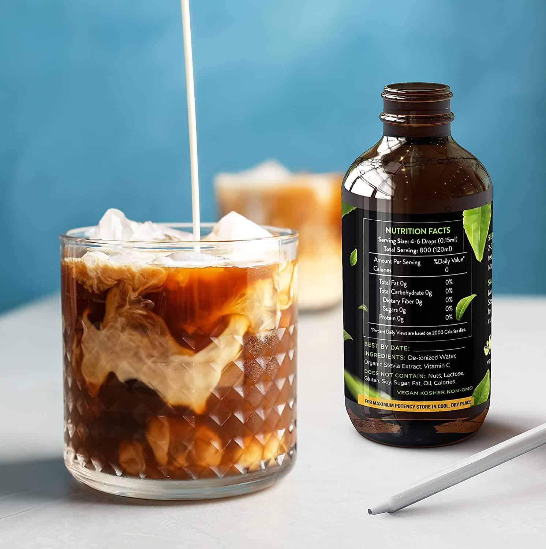 Enzo Liquid Stevia Drops 4oz 120ml Toffee Caramel Enzo